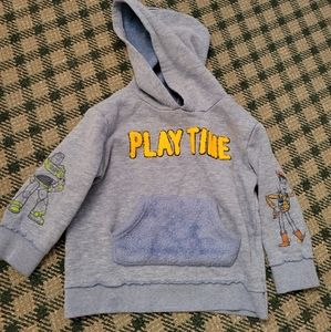2/$10 Toy Story 3T Woody Buzz Hoodie Playtime